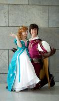 Edward x Giselle Disney Cosplay by Berry-Cosplay