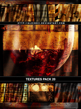 TEXTURE PACK #20 by Alkindii