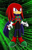 A style for Knuckles by MicaiahtheEchidna