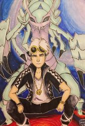 Guzma and Golisopod by heleniscool