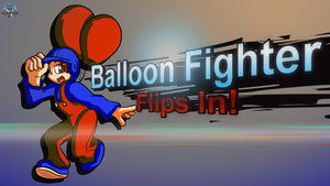 Balloon Fighter Flips In! by GamefreakDX