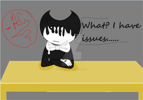 Bendy's Inky Issues {Inky Collection #1} by ArtistiaCons