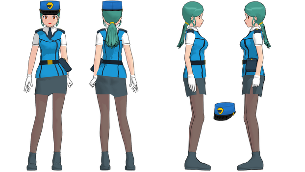 Kalos Officer Jenny Update -Ref- by 2234083174