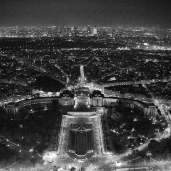 Paris From Above by iamsaussy