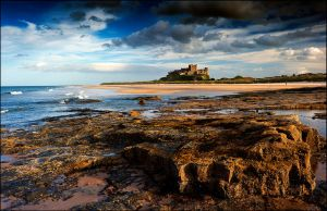 Bamburgh Castle is a King amongst castles by LordLJCornellPhotos