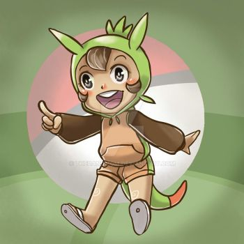 Chespin by thedandmom