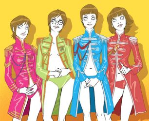 sgt peppers by amandagrazini
