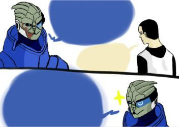 Garrus one by Manga-sarah