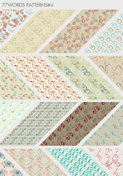 patterns: set no.4 by 77words