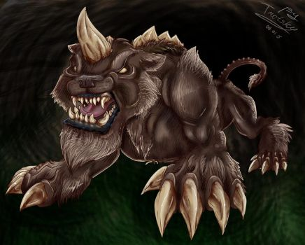 Shadowbeast by TrotskyMax