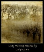 Misty Morning Brushes 1 by LadyVictoire-Brushes