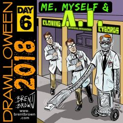 drawlloween2018-Day-6-me-myself-and-a.i. by bre-bro