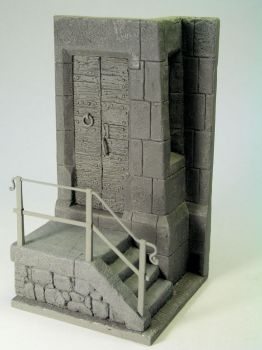 Medieval castle corner by thecarcass