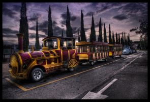 A Dream and a Train HDR by ISIK5