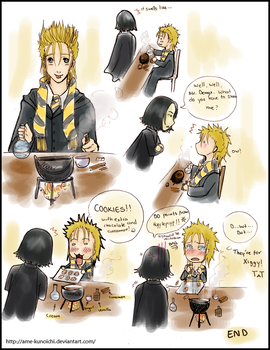 If Demyx was in Snape's class by Ame-Kunoichi