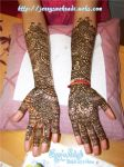 Bridal Mehndi Monika K. by JennysMehndi