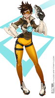 Overwatch - Tracer by MLeth