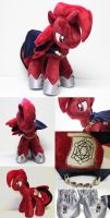 Master Spectre Plush by CindersDesigns