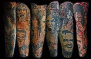 horror sleeve by optimuspint