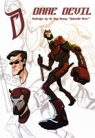 Dare Devil Redesign by splendidriver