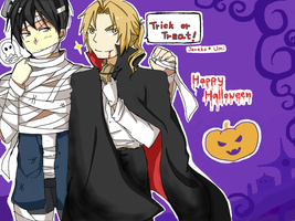 RoyEd: Happy Halloween 2011 by c0ralus