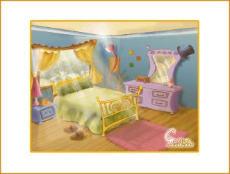 bedroom by ChaRLunE