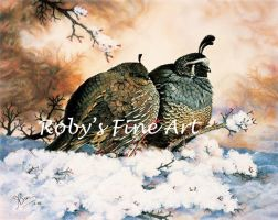 'Quiet Romance' - Realism by robybaer