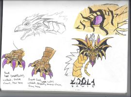 Fawin Yellow-Breather The Child Eater REF by dragonwolf1775