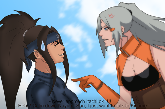 [COLLAB w. Sarah927artworks] Never approach Itachi by MilenaWenham
