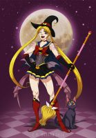 Super Sailor Witchy Moon by Silver-Falcon