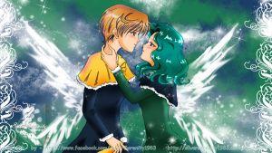 Christmas Haruka and Michiru - true Love by SilverSerenity1983