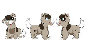 Pupper gro' has arrived! by RaindropLily