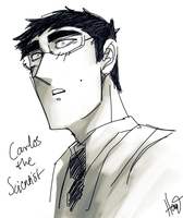 Carlos doodle by Hennei