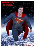 Man of Steel by MrSynnerster