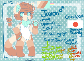 JAXON OFFICIAL REF 2017 (can be drawn in feral!!!) by ghostcrush