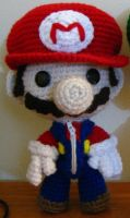 Mario Sackboy by Goldenjellybean