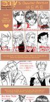 Character Obsession Meme by digitalreplicant