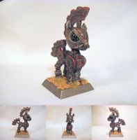 Table-Top Miniature:Steelhooves(Fallout Equestria) by NPCtendo