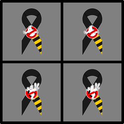 GB Tribute Ribbon - GB 1 and 2 Flat Vector by btnkdrms