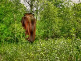 Old Transformer  HDR by Lectrichead