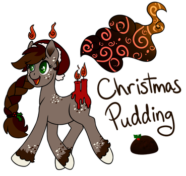 Scented Pony Advent Day 1: Christmas Pudding by infinitesle