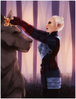 DAI: Fen'Harel Enansal [Commission] by LadyTheirin