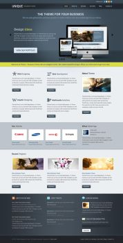 Unique Business Theme color3 by sunilbjoshi