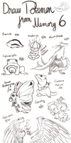 Draw Pokemon From Memory 6