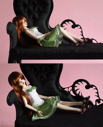 SD Gothic Chaise Longue by Katja-dollab