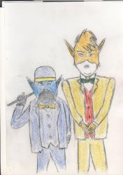 Watson and Holmes colored by EgonEagle