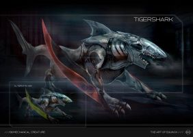 Tigershark Biomech by VincentiusMatthew