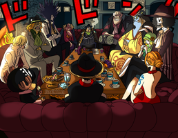 Meeting (One Piece CH. 858) by FanaliShiro