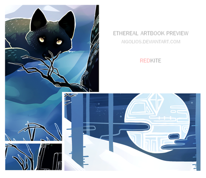 Ethereal Artbook Preview by Kel-Del
