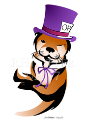 Otter Place Logo by RHPotter